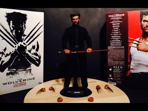 HOT TOYS THE WOLVERINE - LOBEZNO INMORTAL REF. MMS220 VIDEO REVIEW EN ESPAÑOL