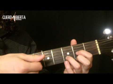 Aprende a tocar crazy little thing called love - Queen - Leccion de guitarra acustica