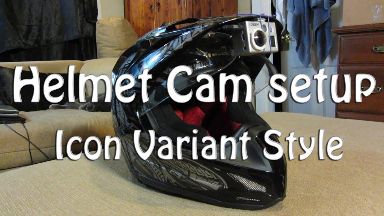 Helmet Cam Setup Helmet Cam Setup Icon Variant
