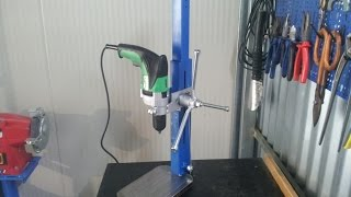 trapano a colonna fai da te (homemade drill press)