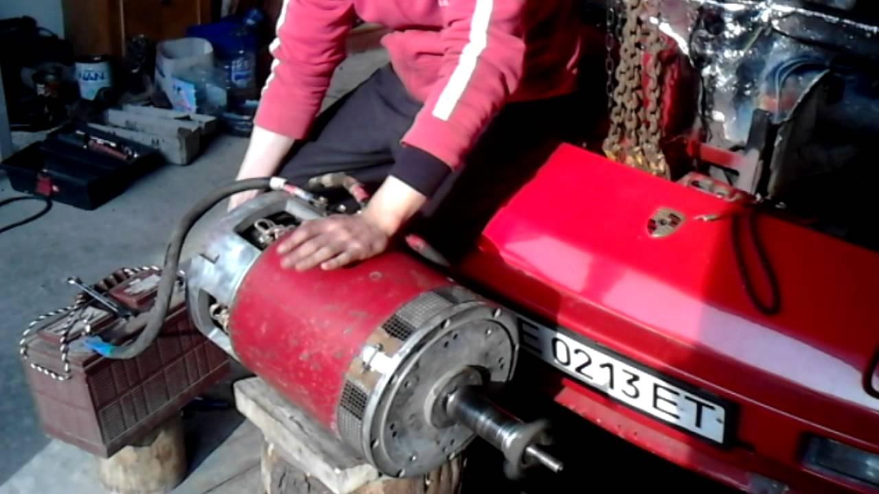 Электромотор для автомобиля своими руками 38