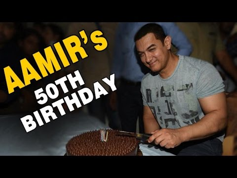 Aamir Khan's 50th Birthday Party 2015 | Full Show