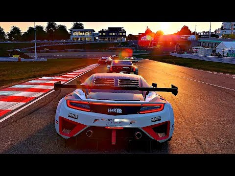 Project CARS 2 - Gameplay Acura NSX GT3 @ Sportsland Sugo [4K 60FPS ULTRA]