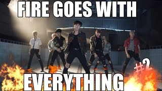 more proof that BTS FIRE choreography goes with everything