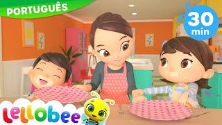Desenho para Bebe | 1,2 O que Fazemos? | NOVO DESENHO! | Desenhos Animados | Little Baby Bum