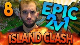 """Minecraft ISLAND CLASH: EPISODE 8 """"HARDEST WAR YET?!"""" w/ Preston and MrWoofless"""