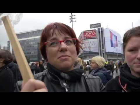 Czarny Protest W Katowicach. Kobiety Boją Się Rządów PiS