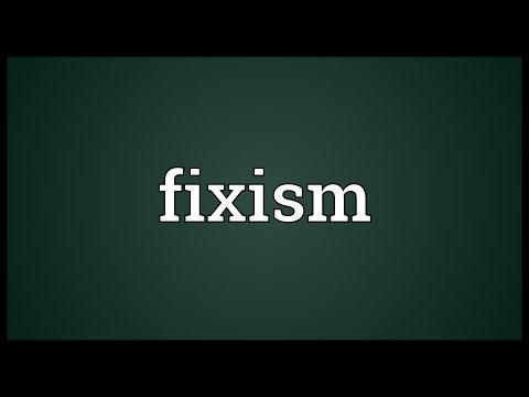 Header of Fixism