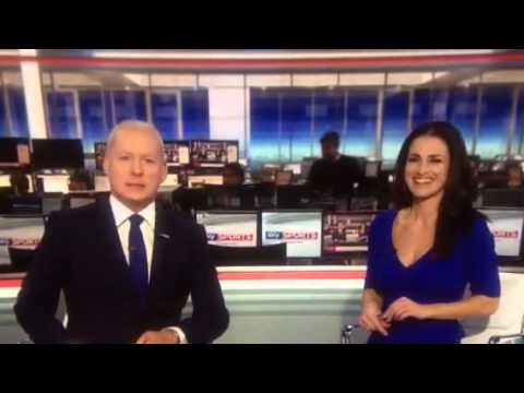 Kirsty Gallacher gets the giggles over Jim Whyte's silly accent