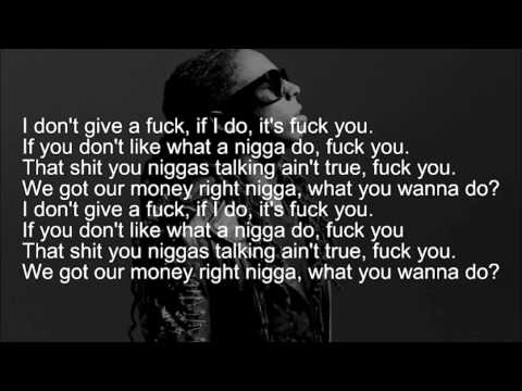 Lil Wayne~Fuck You (Verse with Hook)
