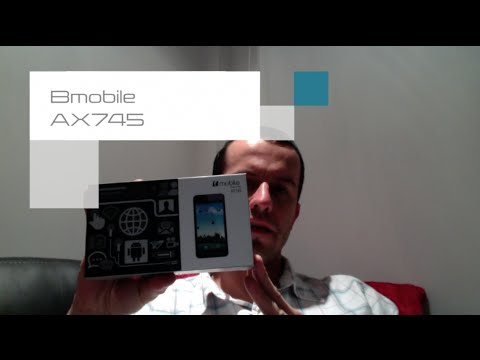 Review del B-Mobile AX745
