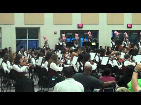 Alton C. Crews Middle School - 8th Grade Orchestra - May 14, 2012 - Theme from Pink Panther