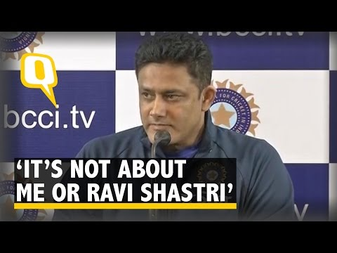 The Quint: It's Not About Me or Ravi Shastri, It's About the Players, Says Anil Kumble