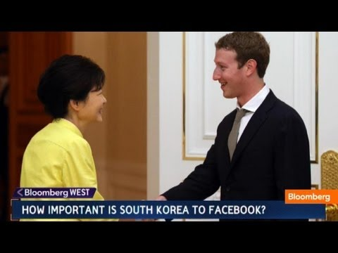 Facebook's Mark Zuckerberg Meets Samsung to Discuss Partnerships
