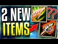 2 NEW ITEMS IN LEAGUE!! These Will Destroy League.. (Atma's Reckoning  Spear of Shojin PBE) LoL