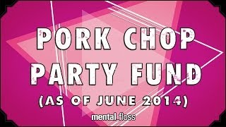 BONUS VIDEO: Pork Chop Party Fund - mental_floss on YouTube (Ep.210.5)