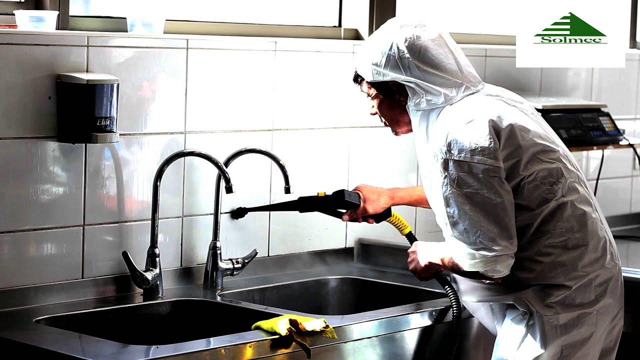 Limpieza a vapor solmec concepcion chile youtube for Maquinas de cocina