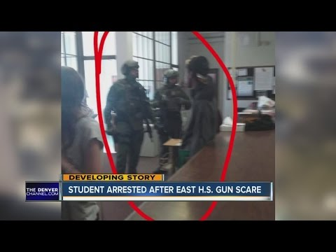 Student arrested after East H.S. gun scare