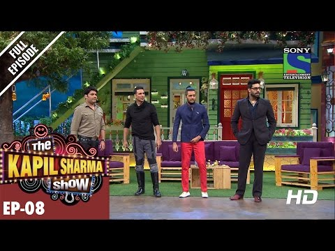 The Kapil Sharma Show - दी कपिल शर्मा शो–Episode 8-Housefull of masti –15th May 2016