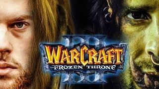 Warcraft 3: The Frozen Throne | 1v1  HU vs. Orc | Florentin gegen Honor