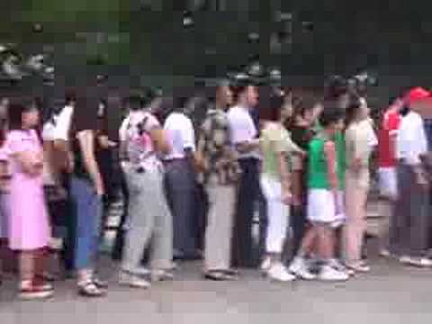 Line at Mao's Mausoleum Video