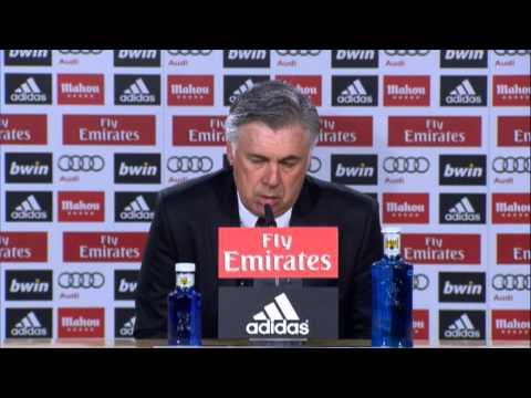 "Carlo Ancelotti: ""Cristiano Ronaldos Fehlen motiviert extra!"" | Real Madrid - FC Villarreal 4:2"