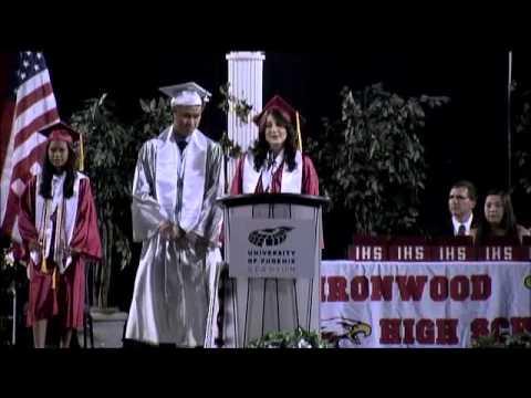 2014 PUSD Graduation: Ironwood High School