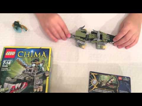 lego chima crocodile legend beast instructions