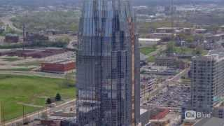High-Rise Office Tower - Nashville, TN - OxBlue Time-Lapse Video