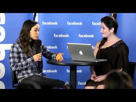 Ellen Page Facebook Live - Interview