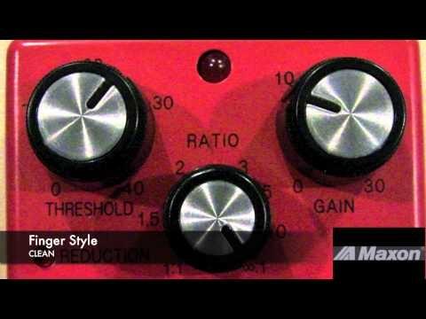 MAXON CP9 PRO+ COMPRESSOR BASS SOUND CLIPS