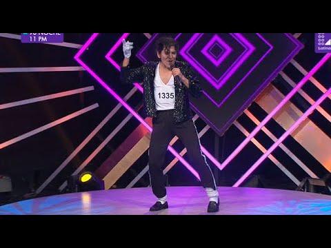 Michael Jackson sorprendió a todos con su tremenda interpretación