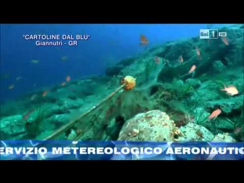 Cartoline dal Blu'-Isola Giannutri. Sigla finale della puntata di Linea Blu' Rai 1 del 27/09/2014 BY Gian Melchiori