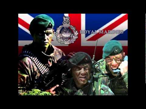 AMERICAN MILITARY VS BRITISH MILITARY  (with police force)