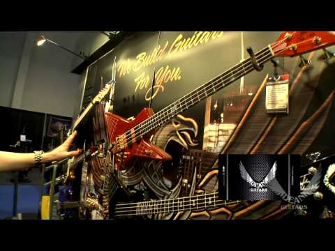 DEAN GUITARS NAMM 2012 BASS SIGNATURES