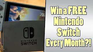 How to Win a Free Nintendo Switch