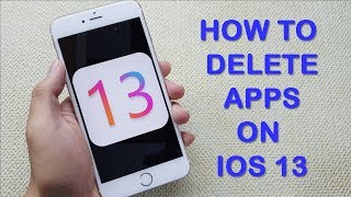 3 ways to delete apps on iPhone, iPad - iOS 13