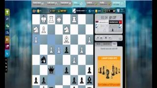 MrAbarcan Live Blitz #18 (Speed) Chess Game: Budapest Gambit Accepted 3.e6