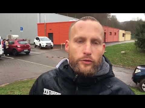 Kevin Schmitt, Trainer FSG Ehrang/Pfalzel, nach dem 5:1-Sieg im Kreispokal in Tawern