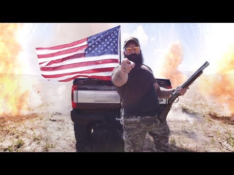 Drive a Full Sized American Flag From the Back Of Your Rig | FanPole