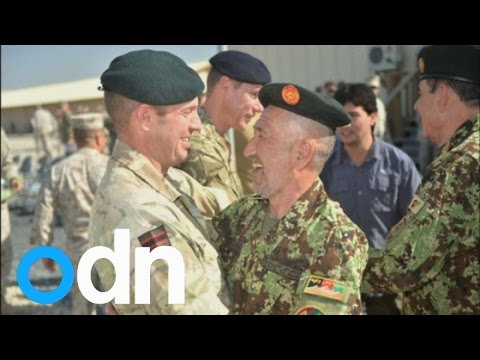 UK troops leave Camp Bastion to Afghan forces
