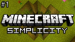 Minecraft: Simplicity Part 1 - FLOWER POWER