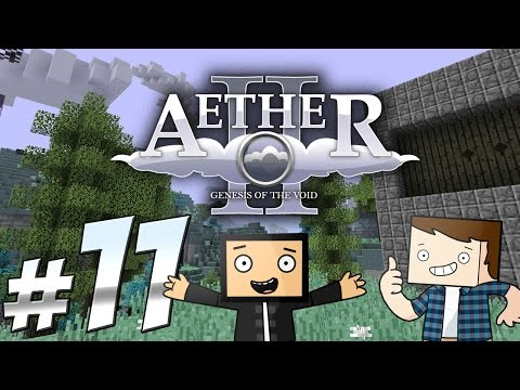 Minecraft Aether Ep11 | Figuring Out The Party System!