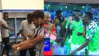 NIGERIAN CELEBRITIES REACT TO NIGERIA'S WIN OVER ICELAND