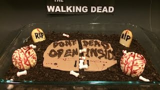 The Walking Dead Brownies