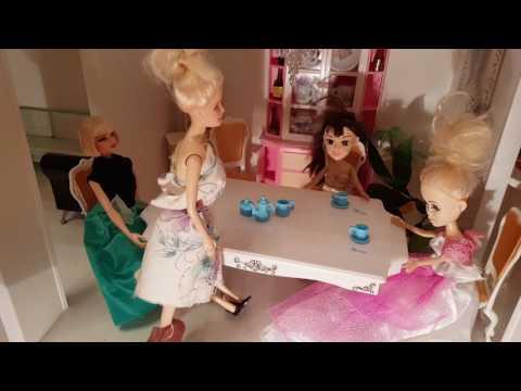 Кукольный театр. Сказка о Золушке с куклами барби. Часть 3