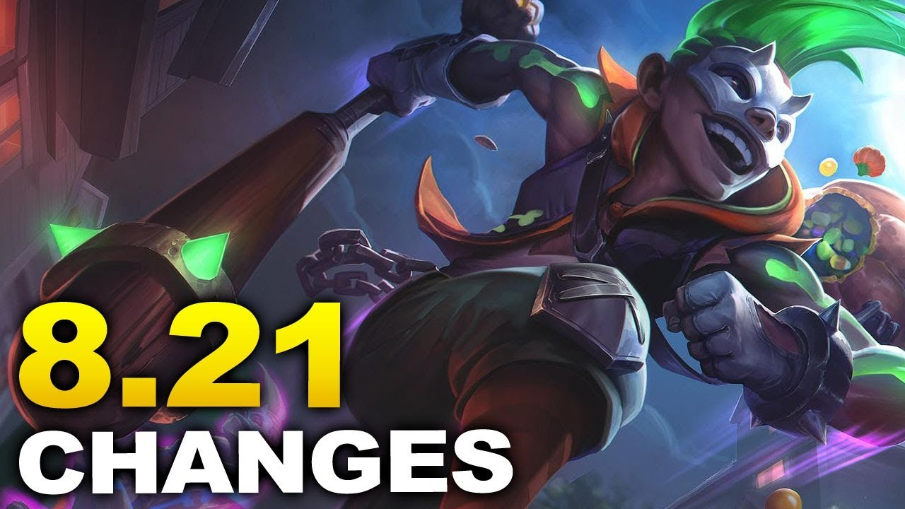 ALL new changes coming in Patch 8.21