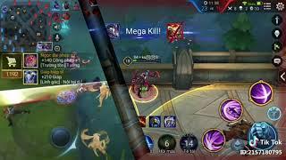 Những pha quad kill và mega kill của liên quân mobile trong Tik Tok