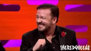 Johnny Depp & Ricky Gervais on the Graham Norton show [3/3]