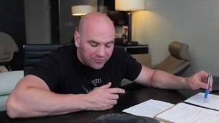 Dana White ALDO vs FABER video blog - 4/19/10